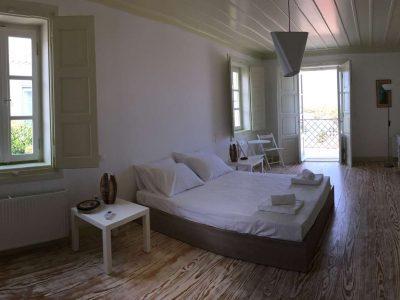 Villa Pitys in Spetses Greece, bedroom, by Olive Villa Rentals