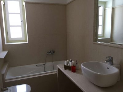 Villa Pitys in Spetses Greece, bathroom 2, by Olive Villa Rentals