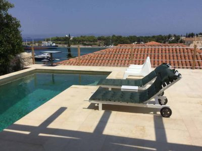 Villa Pitys in Spetses Greece, pool 4, by Olive Villa Rentals