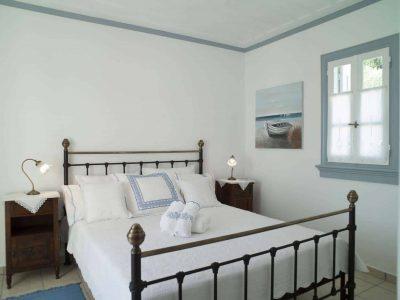 Villa Spezie in Spetses Greece, bedroom, by Olive Villa Rentals