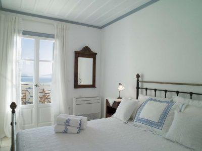 Villa Spezie in Spetses Greece, bedroom 2, by Olive Villa Rentals
