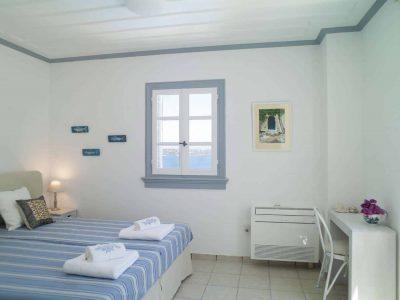 Villa Spezie in Spetses Greece, bedroom 3, by Olive Villa Rentals