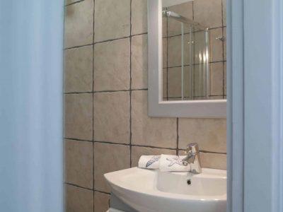 Villa Spezie in Spetses Greece, bathroom 3, by Olive Villa Rentals