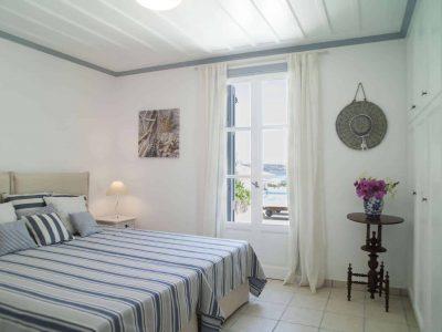 Villa Spezie in Spetses Greece, bedroom 4, by Olive Villa Rentals