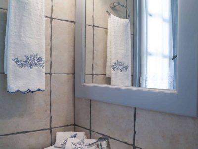 Villa Spezie in Spetses Greece, bathroom 4, by Olive Villa Rentals