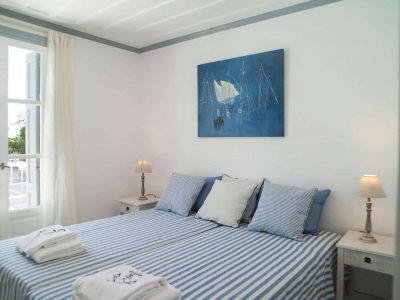 Villa Spezie in Spetses Greece, bedroom 5, by Olive Villa Rentals