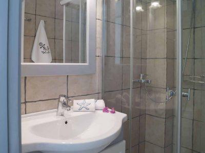 Villa Spezie in Spetses Greece, bathroom 5, by Olive Villa Rentals