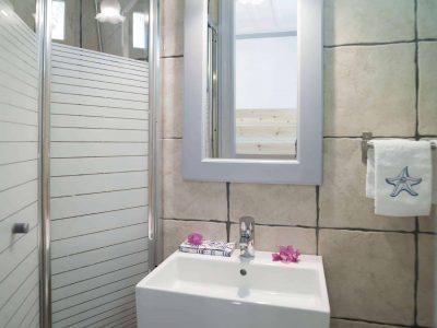 Villa Spezie in Spetses Greece, bathroom 6, by Olive Villa Rentals