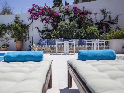 Villa Spezie in Spetses Greece, pool 2, by Olive Villa Rentals