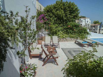 Villa Spezie in Spetses Greece, pool 3, by Olive Villa Rentals