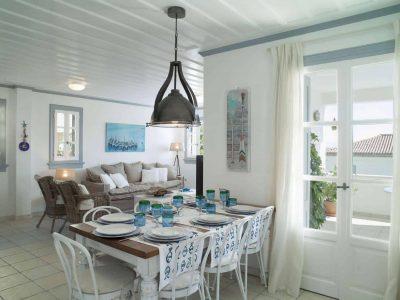 Villa Spezie in Spetses Greece, kitchen 2, by Olive Villa Rentals