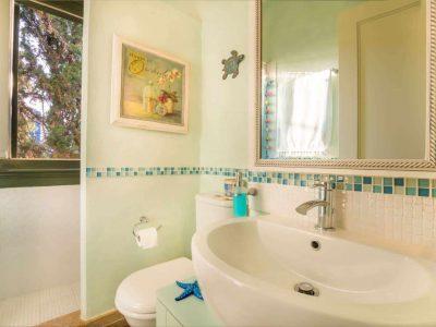 Villa Veneta in Spetses Greece, bathroom 6, by Olive Villa Rentals