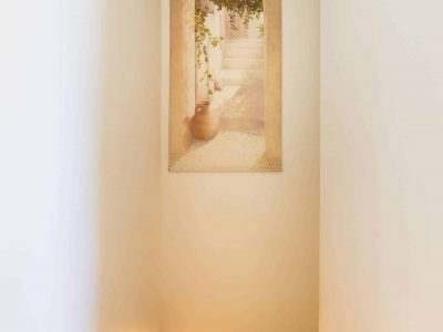 Villa Veneta in Spetses Greece, stairway 2, by Olive Villa Rentals