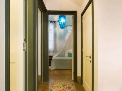 Villa Veneta in Spetses Greece, hallway, by Olive Villa Rentals