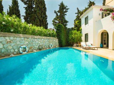 Villa Veneta in Spetses Greece, pool 2, by Olive Villa Rentals
