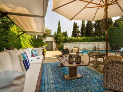 Villa Veneta in Spetses Greece, pool 4, by Olive Villa Rentals