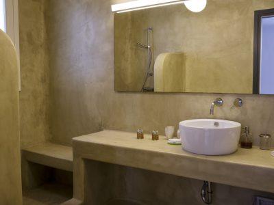 Villa Leticia in Mykonos Greece, bathroom 2, by Olive Villa Rentals