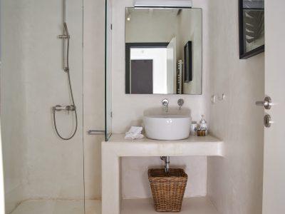 Villa Leticia in Mykonos Greece, bathroom 4, by Olive Villa Rentals