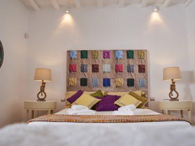 Villa Leticia in Mykonos Greece, bedroom 2, by Olive Villa Rentals