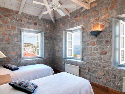 Villa Begonia in Hydra Greece, Hydra, Bedroom, by Olive Villa Rentals