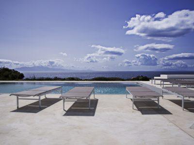 Villa Leticia in Mykonos Greece, pool, by Olive Villa Rentals