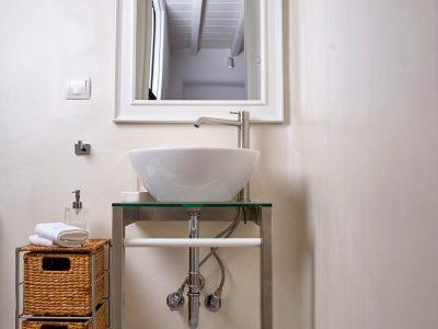 Villa Leticia in Mykonos Greece, bathroom 5, by Olive Villa Rentals