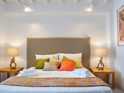 Villa Leticia in Mykonos Greece, bedroom 3, by Olive Villa Rentals
