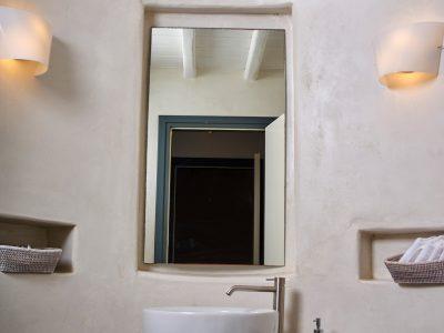 Villa Leticia in Mykonos Greece, bathroom 6, by Olive Villa Rentals