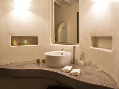Villa Leticia in Mykonos Greece, bathroom 7, by Olive Villa Rentals