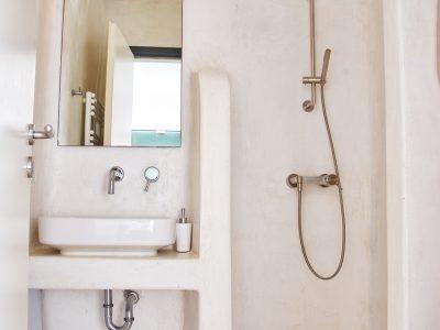 Villa Leticia in Mykonos Greece, bathroom 8, by Olive Villa Rentals
