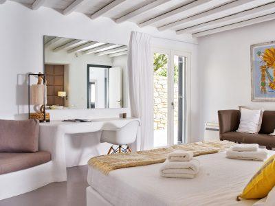 Villa Leticia in Mykonos Greece, bedroom 7, by Olive Villa Rentals