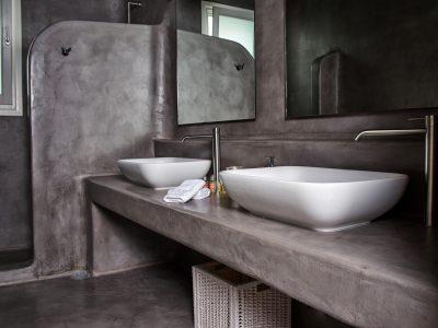 Villa Leticia in Mykonos Greece, bathroom 9, by Olive Villa Rentals